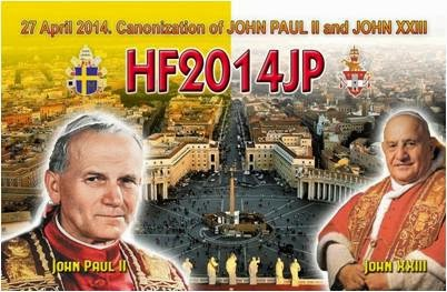 Canonisation of two amazing men