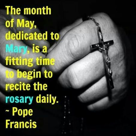 May - The month of Mary